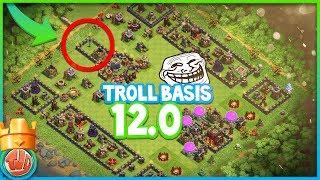 TROLL BASIS 12.0 | DE GROOTSTE TROLL BASIS OOIT!! - Clash of Clans