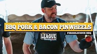 Fergolicious BBQ Pork Pinwheels