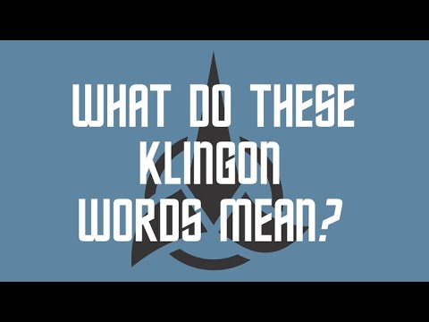 Popular Klingon Phrases And Their Meaning