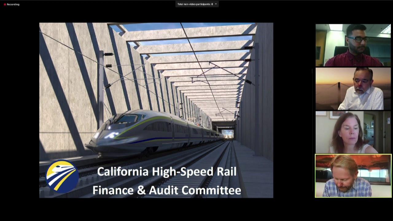 California High-Speed Rail Finance & Audit COmmittee Meeting June 25, 2020