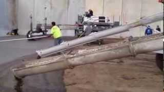 Pouring Concrete For Bunker Feed Slab