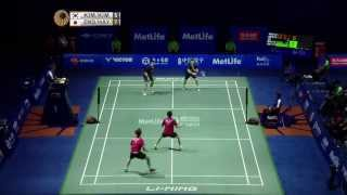 Thaihot China Open 2015 | Badminton SF M2-MD | Kim/Kim vs Endo/Hay