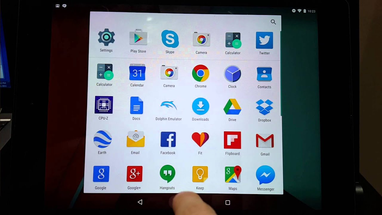 Software and UI Performance - The Dell Venue 10 7040 Review