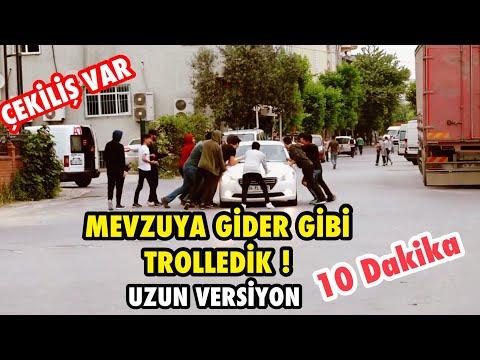 TOPLUCA İNSANLARIN ÜSTÜNE KOŞMA ŞAKASI İLE TROLLEDİK ! - UZUN VERSİYON (Çekiliş Var)