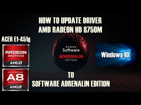 TUTORIAL UPDATE DRIVER VGA AMD RADEON HD 8750M DI LAPTOP ACER E1-451G