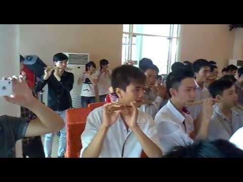 Đồng tấu Việt Nam Quê Hương Tôi ... sáo trúc ...