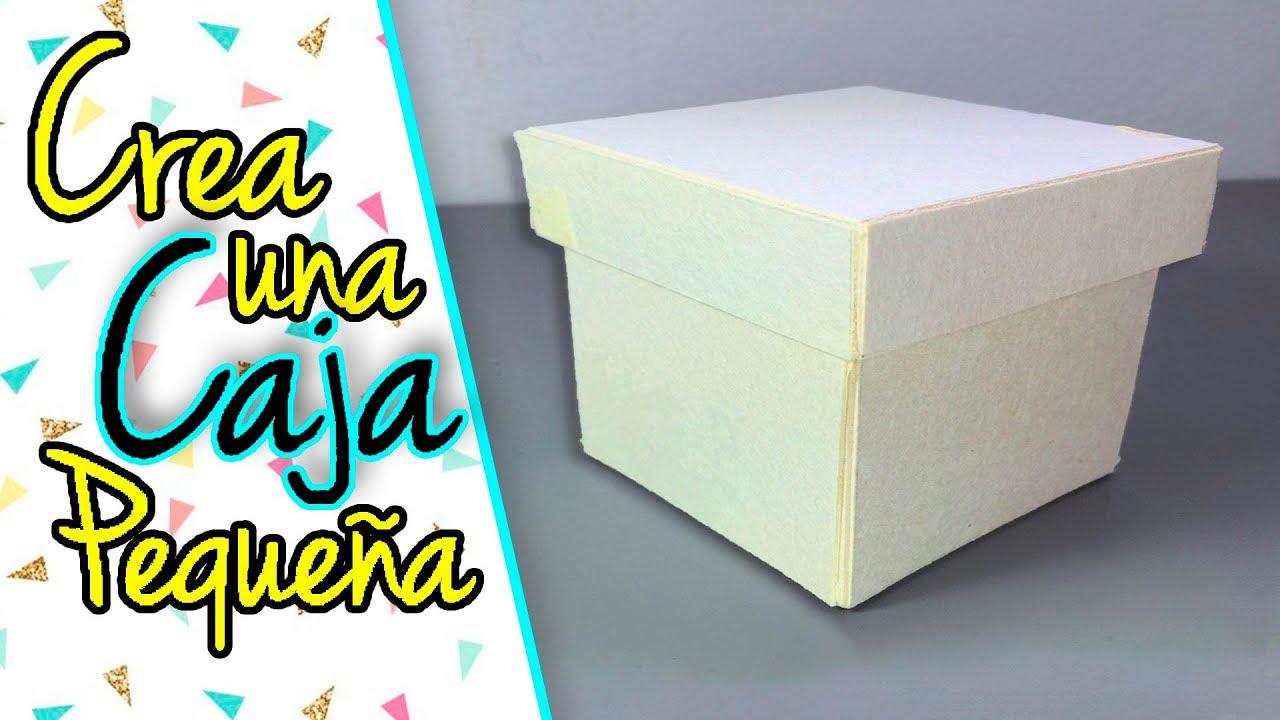 Como hacer una caja ariela youtube - Como hacer cajitas de cartulina ...
