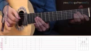 Как играть на гитаре Кино Восьмиклассница