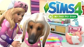 IS IT WORTH IT?! - FIRST THOUGHTS & OVERVIEW | Sims 4 My First Pet Stuff CAS + Build & Buy