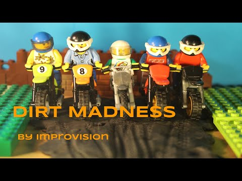 Motocross LEGO Gila (Animasi)