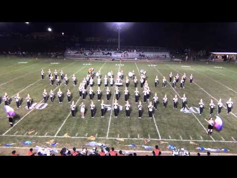 James A Garfield Marching Pride Halftime 9/25/2015