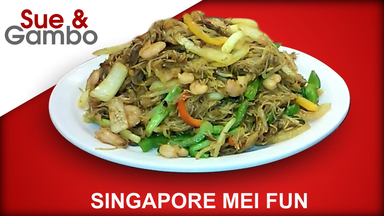 what is singapore mei fun