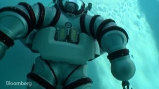This $600K 'Submarine Suit' Lets You Dive 1000 Feet