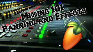 Mixing Beats 101 For Beginners Part 2 Panning and Effects