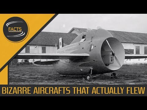 Bizarre Aircrafts That Actually Flew - [SPEECH + TEXT]