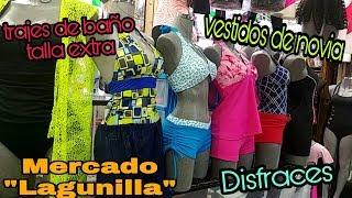 """Mercado """"Lagunilla"""" /vestidos de novia,trajes de baño tallas extra"""