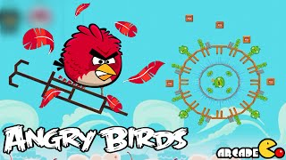 Angry Birds Golden Eggs - Red's Mighty Freathers and Mighty Eagle