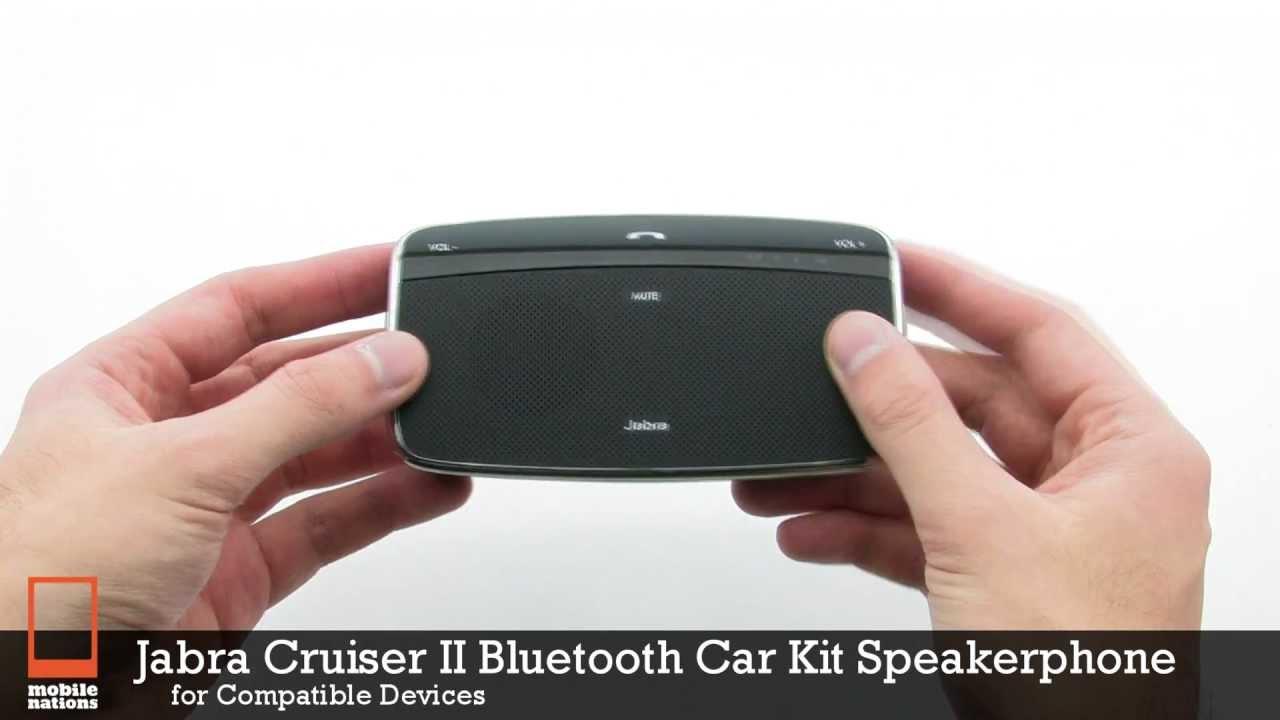 Jabra Freeway - Car Bluetooth for Calls - YouTube