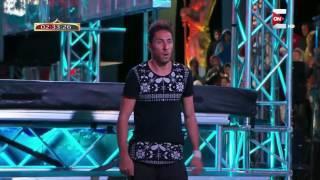 Ninja Warrior بالعربي - المتسابق نصر الدين من المغرب 25 سنة يفوز بتخطي المرحلة الأولى من البرنامج