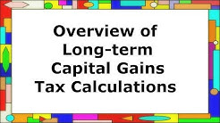 How US federal long-term capital gains taxes are calculated (Part 1 of 2)