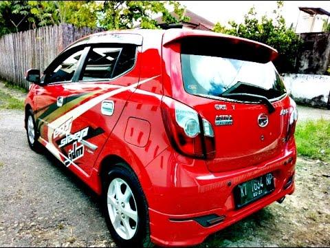Dijual Mobil Ayla X Elegant Matic Tahun  Merah Hp