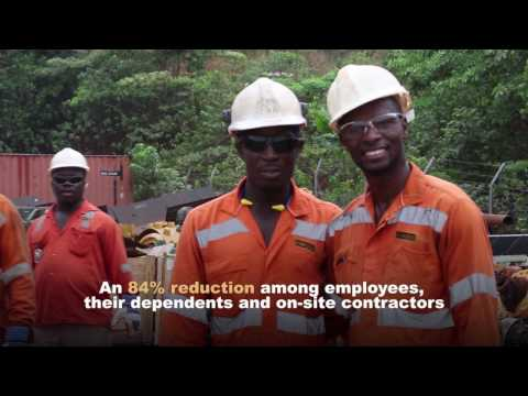 See how Kinross Gold is reducing malaria rates at its Chirano mine in Ghana