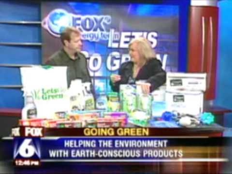 LetsGoGreen.biz offers 100's of everyday green products