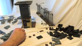 The Walking Dead Tower & Prison Gate -- Mcfarlane Toys