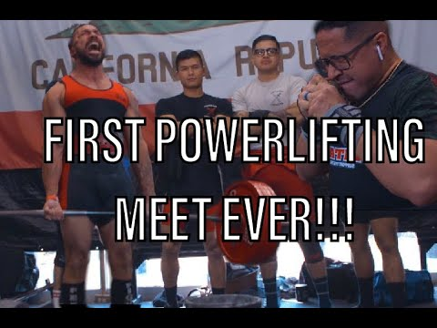 MY FIRST POWERLIFTING MEET, EVER!!! OVERCOMING FAILURE. WITH THE SHOGUN TEAM!