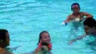 Lilys First Swim
