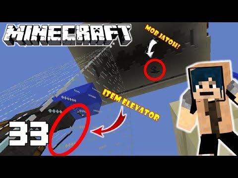 Survival Eps 33 - MOB FARM KEREN!! Minecraft Indonesia