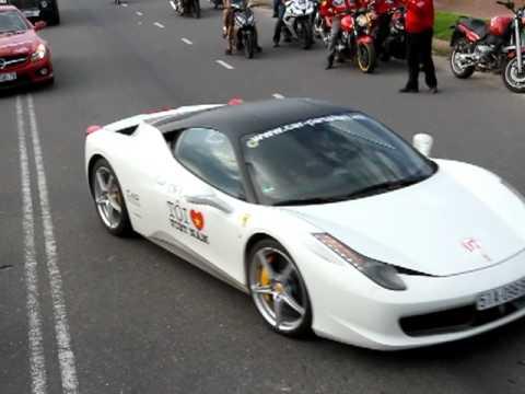 Đoàn Car Passion tiến vào Resort Đã Nẵng