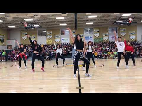 "Langley High School International Dance Crew l ""Mic Drop"" x ""7/11"""