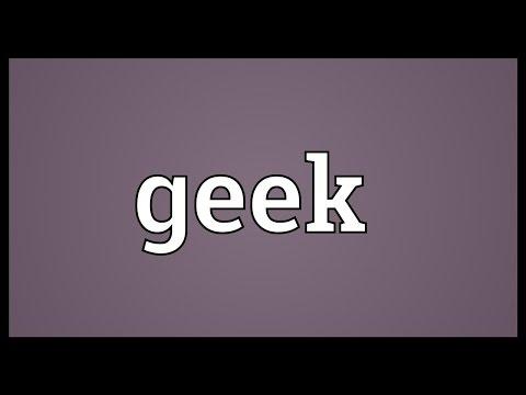 Geek Meaning