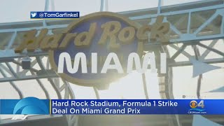 Hard Rock Stadium, Formula 1 Strike Deal On Miami Grand Prix
