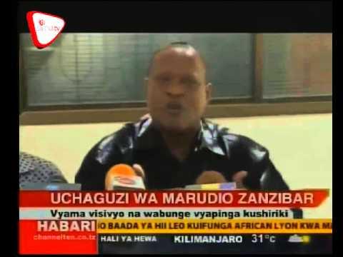 Vyama Visivyo Na Wabunge Bungeni Vyagoma Kushiriki Uchaguzi Zanzibar