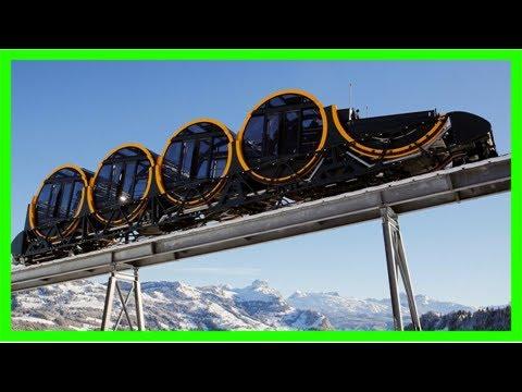Modern engineering:world's steepest funicular railway line to open in switzerland