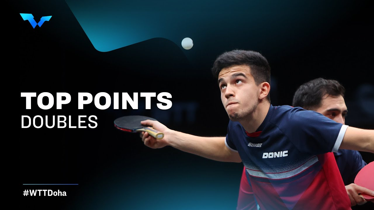 PARTNERS IN CRIME   Day Four Doubles   WTT Contender Doha 2021 - World Table Tennis