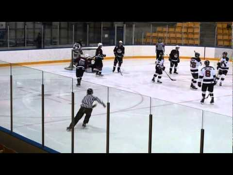 PIJHL Jan 28-2012 Mission Icebreakers at ND Devils