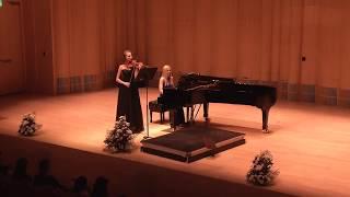Karol Szymanowski Violin Sonata op. 9, D Minor at NYU Abu Dhabi