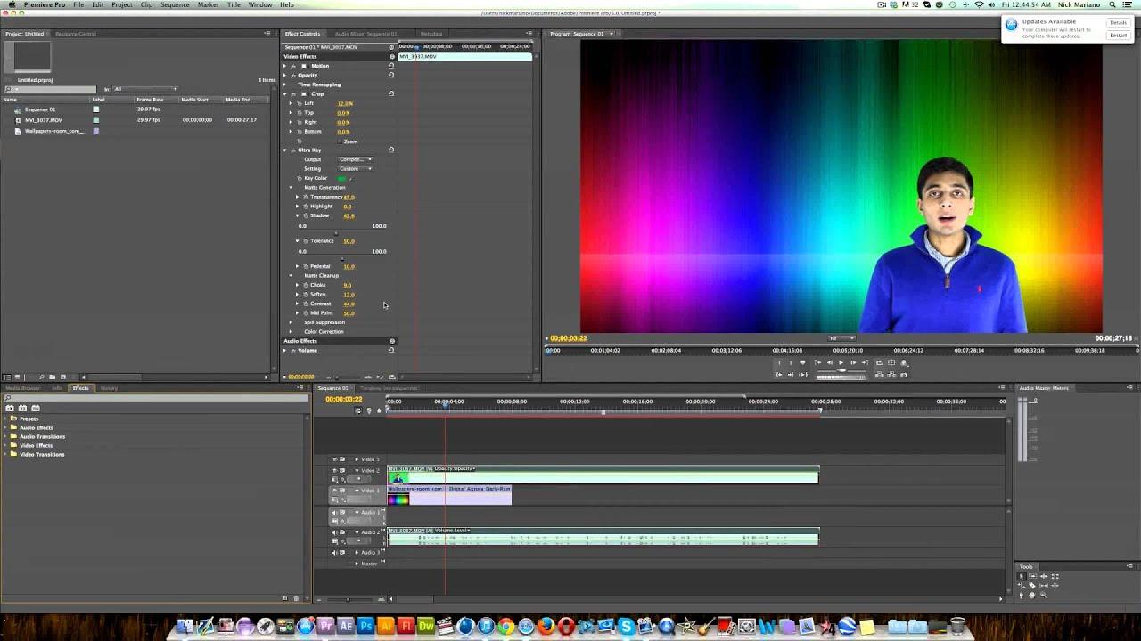 how to add a black screen in adobe premiere pro