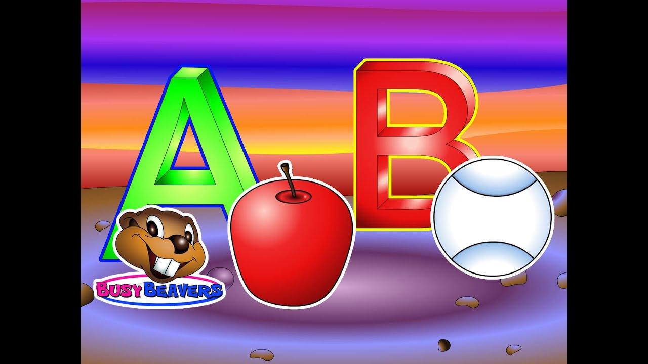 """Alphabet Words"" (Level 1 English Lesson 05) CLIP - Learn Phonics,  Kindergarten Kids, Teach Baby"