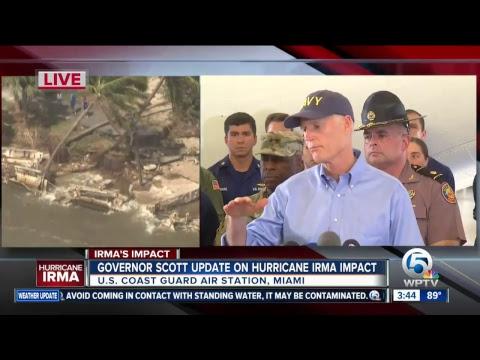 LIVE: Gov. Rick Scott news coverage on Hurricane Irma