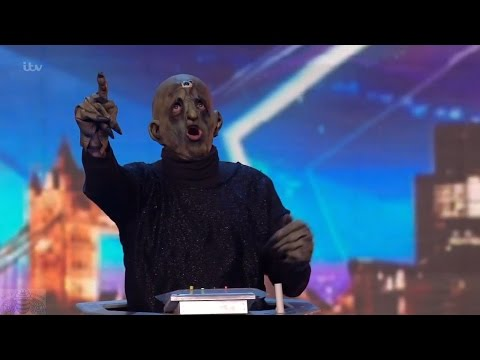 Britain's Got Talent 2016 S10E05 The Deep Space Deviants Dr Who Singing Davros Full Audition