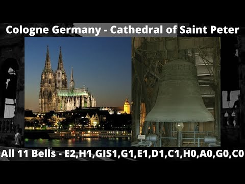Cologne (Germany) - Kölner Dom - Cathedral - St Peter and the Virgin Mary - The 11 Bells