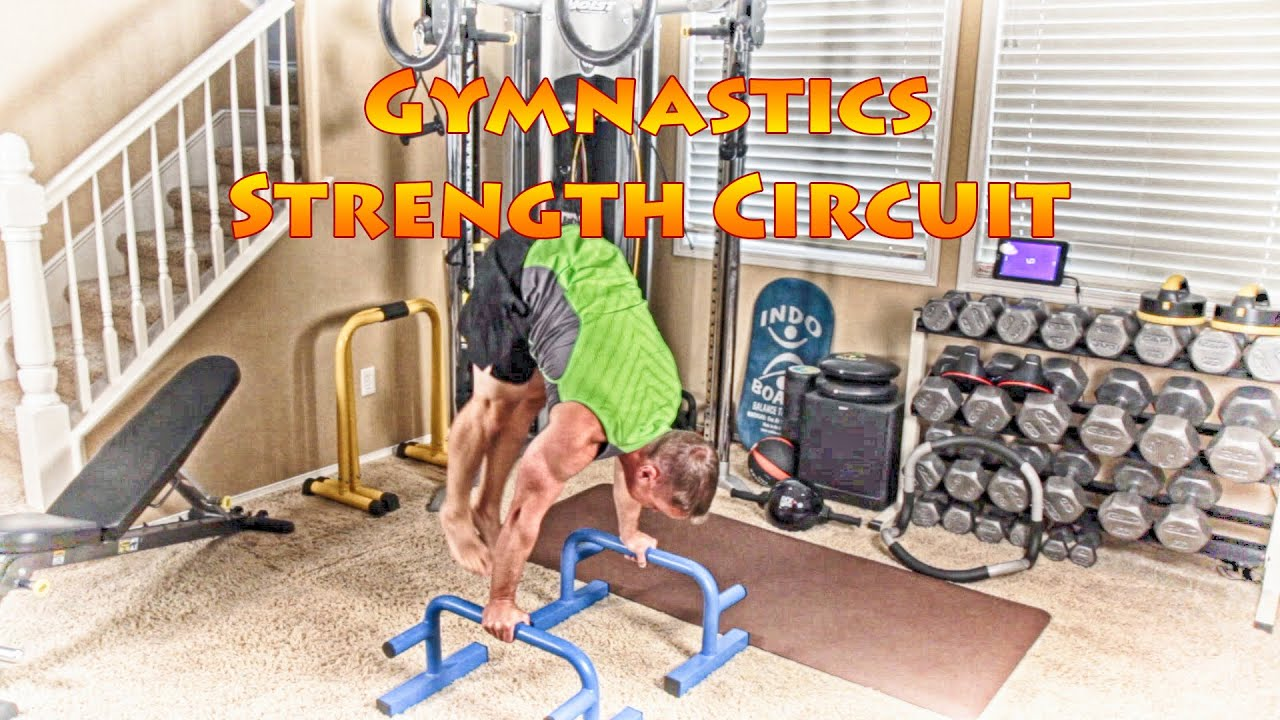 Download Gymnastics Strength Circuit