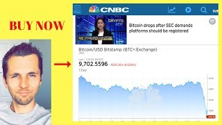 Bitcoin News! Tanked Under $10k When SEC Makes New Announcement