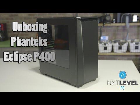 Phanteks Eclipse P400 PC Case Unboxing | NXT Level PC