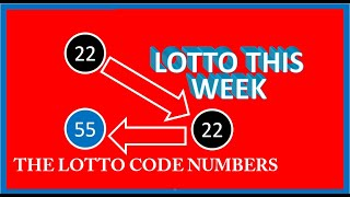 Lotto Code Number Today Lottery Code Numbers Today The Lotto Winning Strategy How To Win The Lottery