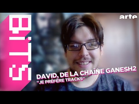 David, de la chaîne Ganesh 2, et Jean-Luc Mélenchon - BiTS - ARTE
